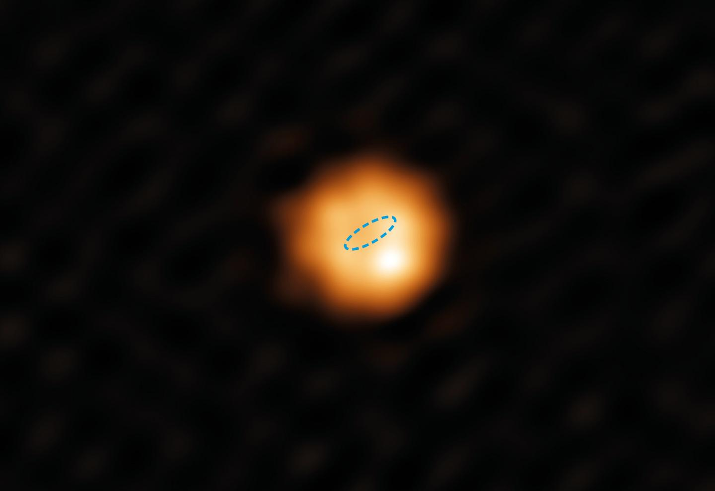 The star W Hydrae, which shows us the Red Giant future of our own star.
