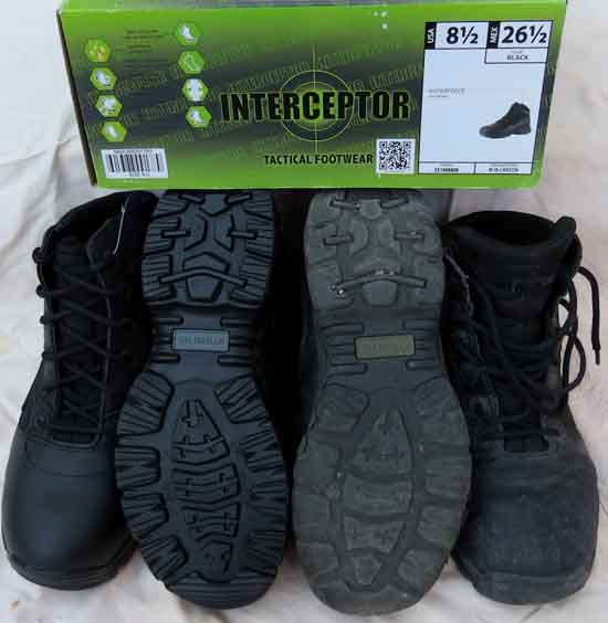 New and post-TYT Interceptor Backpacking Boots.