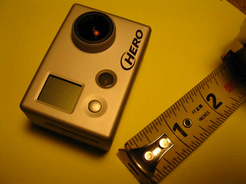 GoPro 960 and ruler-Tape Measure