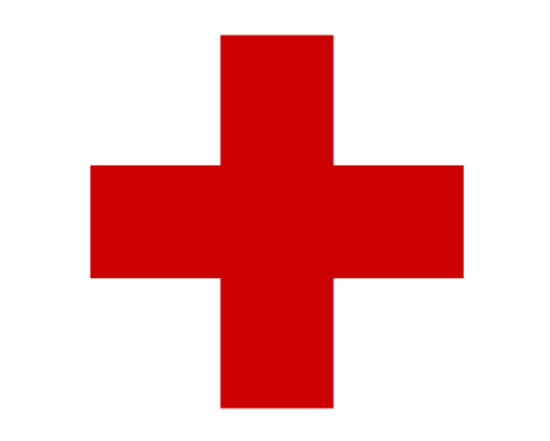 Red Cross, international symbol of First Aid, wiki by Jon Harald Søby