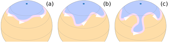 Rossby Wave Meanders of the northern hemisphere's jet stream, Wiki, by Fred the Oyster.