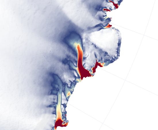 Totten and E Antarctic Glaciers, Landsat 8 — OLI