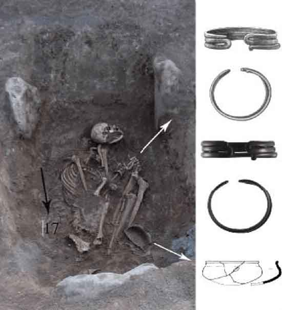 Female Uratu Warrior Grave with Jewelry, Anahit Khudaverdyan, National Academy of Sciences of the Republic of Armenia.