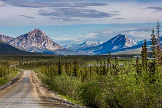 Southern Brooks Range from Dalton Highway, UAF photo by Todd Paris.