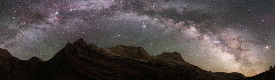 Night Sky Page Header, National Park Service