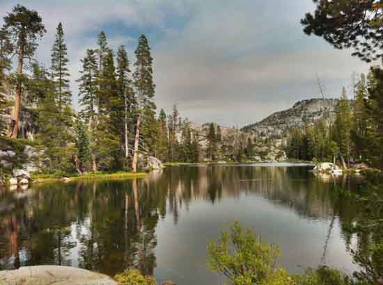 Camp Lake in Emigrant Wilderness.