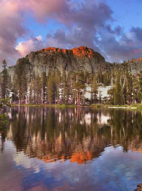 Backpacking to Gem Lake in the Emigrant Wilderness.