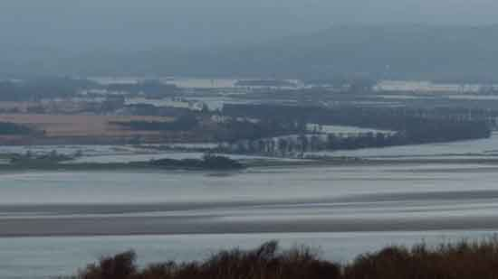 Flooding Lyth Valley, Cumbria, 2015, CEH, Centre for Ecology & Hydrology.