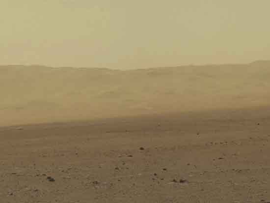North wall of Gale Crater from Curosity Rover, NASA/JPL-Caltech/MSSS.