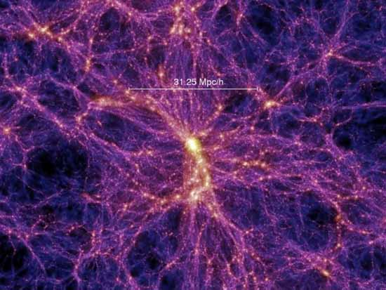 Celestial tendrils of superheated gas tie our visible universe together.