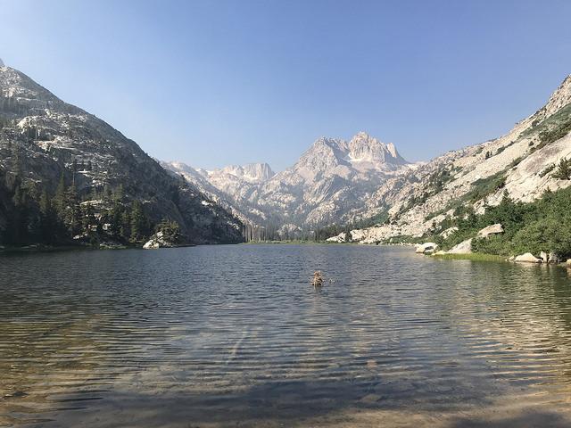 Barney Lake in the Hoover Wilderness   High Sierra Backpacker
