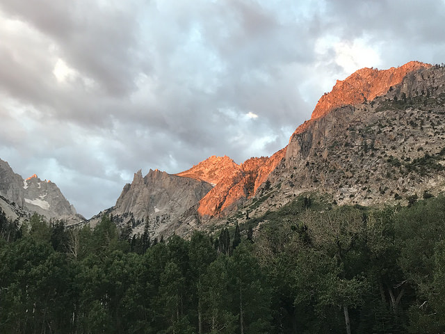 Little Slide Canyon Sunrise in Hoover Wilderness   High