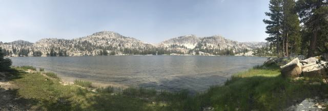 Smedberg Lake in the North Yosemite Backcountry